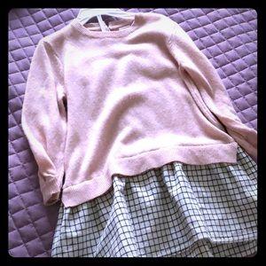Preppy Zara dress for little girl
